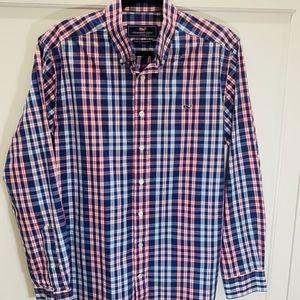 Vineyard Vines Whale shirt, like new, M